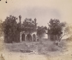 Yaqut Dabuli's Mosque and Tomb, Bijapur.
